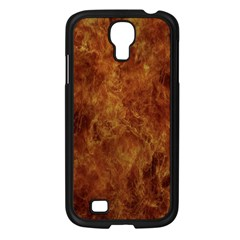 Abstract Flames Fire Hot Samsung Galaxy S4 I9500/ I9505 Case (black)