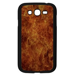 Abstract Flames Fire Hot Samsung Galaxy Grand Duos I9082 Case (black)