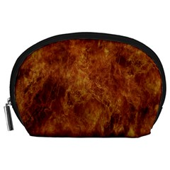 Abstract Flames Fire Hot Accessory Pouches (large)