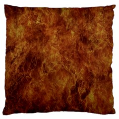 Abstract Flames Fire Hot Standard Flano Cushion Case (two Sides)