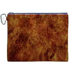 Abstract Flames Fire Hot Canvas Cosmetic Bag (xxxl)