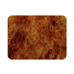 Abstract Flames Fire Hot Double Sided Flano Blanket (mini)