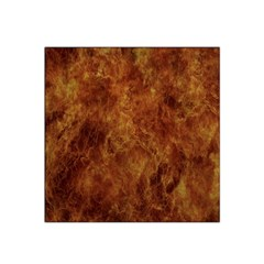 Abstract Flames Fire Hot Satin Bandana Scarf