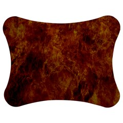 Abstract Flames Fire Hot Jigsaw Puzzle Photo Stand (bow)