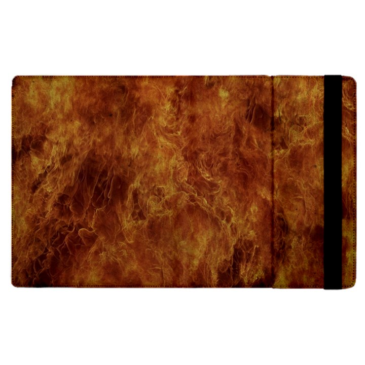 Abstract Flames Fire Hot Apple iPad Pro 9.7   Flip Case