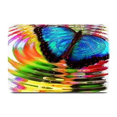 Blue Morphofalter Butterfly Insect Plate Mats