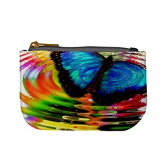Blue Morphofalter Butterfly Insect Mini Coin Purses