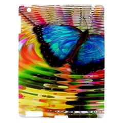 Blue Morphofalter Butterfly Insect Apple Ipad 3/4 Hardshell Case