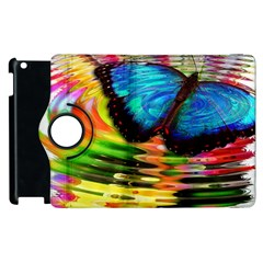 Blue Morphofalter Butterfly Insect Apple Ipad 3/4 Flip 360 Case
