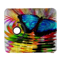 Blue Morphofalter Butterfly Insect Galaxy S3 (flip/folio)