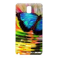 Blue Morphofalter Butterfly Insect Samsung Galaxy Note 3 N9005 Hardshell Back Case
