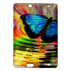 Blue Morphofalter Butterfly Insect Amazon Kindle Fire Hd (2013) Hardshell Case