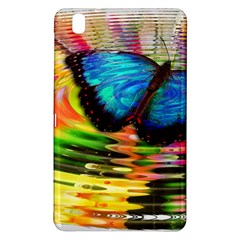 Blue Morphofalter Butterfly Insect Samsung Galaxy Tab Pro 8 4 Hardshell Case