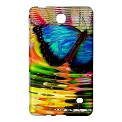 Blue Morphofalter Butterfly Insect Samsung Galaxy Tab 4 (8 ) Hardshell Case