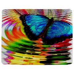 Blue Morphofalter Butterfly Insect Jigsaw Puzzle Photo Stand (rectangular)