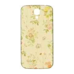 Floral Wallpaper Flowers Vintage Samsung Galaxy S4 I9500/i9505  Hardshell Back Case