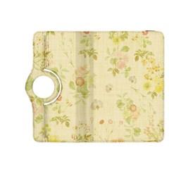 Floral Wallpaper Flowers Vintage Kindle Fire Hdx 8 9  Flip 360 Case