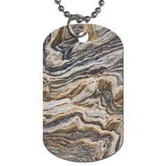 Texture Marble Abstract Pattern Dog Tag (one Side)