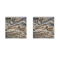 Texture Marble Abstract Pattern Cufflinks (square)