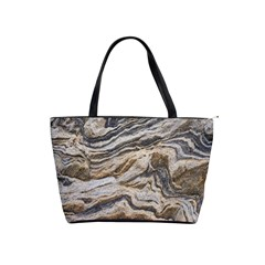 Texture Marble Abstract Pattern Shoulder Handbags