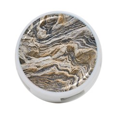 Texture Marble Abstract Pattern 4 Port Usb Hub (two Sides)