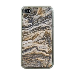 Texture Marble Abstract Pattern Apple Iphone 4 Case (clear)