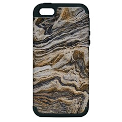 Texture Marble Abstract Pattern Apple Iphone 5 Hardshell Case (pc+silicone)