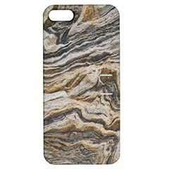 Texture Marble Abstract Pattern Apple Iphone 5 Hardshell Case With Stand