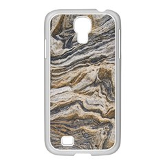 Texture Marble Abstract Pattern Samsung Galaxy S4 I9500/ I9505 Case (white)