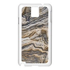 Texture Marble Abstract Pattern Samsung Galaxy Note 3 N9005 Case (white)