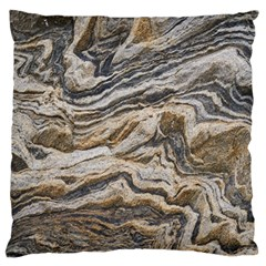 Texture Marble Abstract Pattern Standard Flano Cushion Case (one Side)