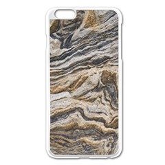 Texture Marble Abstract Pattern Apple Iphone 6 Plus/6s Plus Enamel White Case