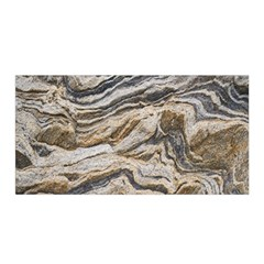 Texture Marble Abstract Pattern Satin Wrap