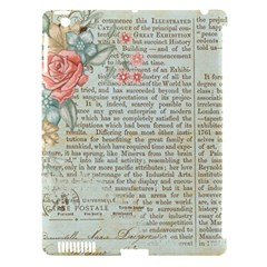 Vintage Floral Background Paper Apple Ipad 3/4 Hardshell Case (compatible With Smart Cover)