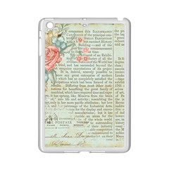 Vintage Floral Background Paper Ipad Mini 2 Enamel Coated Cases