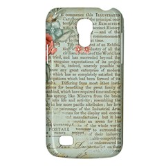 Vintage Floral Background Paper Galaxy S4 Mini