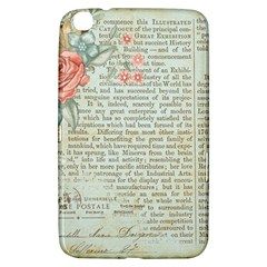 Vintage Floral Background Paper Samsung Galaxy Tab 3 (8 ) T3100 Hardshell Case