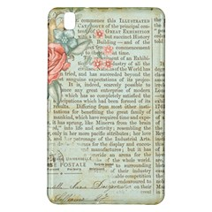 Vintage Floral Background Paper Samsung Galaxy Tab Pro 8 4 Hardshell Case