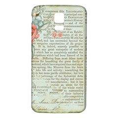 Vintage Floral Background Paper Samsung Galaxy S5 Back Case (white)
