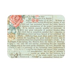 Vintage Floral Background Paper Double Sided Flano Blanket (mini)