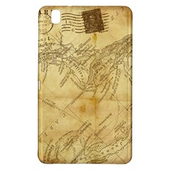 Vintage Map Background Paper Samsung Galaxy Tab Pro 8 4 Hardshell Case