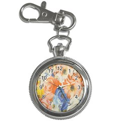Texture Fabric Textile Detail Key Chain Watches