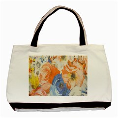 Texture Fabric Textile Detail Basic Tote Bag (two Sides)