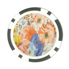 Texture Fabric Textile Detail Poker Chip Card Guard (10 Pack)