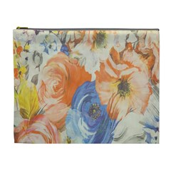 Texture Fabric Textile Detail Cosmetic Bag (xl)