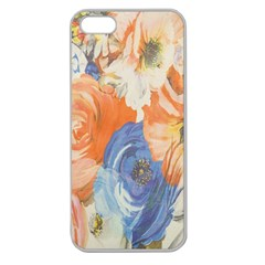 Texture Fabric Textile Detail Apple Seamless Iphone 5 Case (clear)