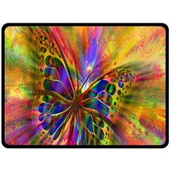 Arrangement Butterfly Aesthetics Double Sided Fleece Blanket (large)