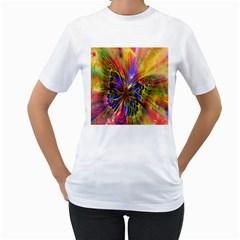 Arrangement Butterfly Aesthetics Women s T Shirt (white)