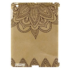 Vintage Background Paper Mandala Apple Ipad 3/4 Hardshell Case (compatible With Smart Cover)