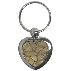 Brick Wall Stone Kennedy Key Chains (heart)